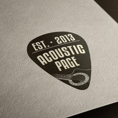 Logo Acoustic Page